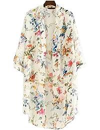 NEW Fashion Women Chiffon Bikini Cover Up Kimono Cardigan Coat Bathing Swimwear