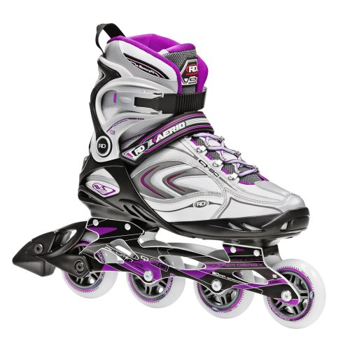 ERIO q-80 Inline Skate, Damen, Purple-Black-White ()