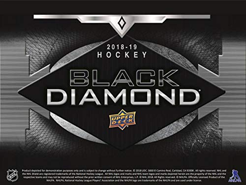 Upper Deck 2018-2019 NHL Black Diamond Hockey Display