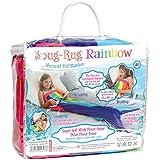 Snug Rug Rainbow Meerjungfrau Schwanz Super Weiche Qualität Mink Fleece Decke, Mehrfarbig