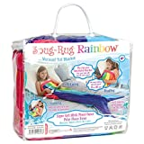 Snug Rug Meerjungfrauen-Schwanz/Fleece-Decke, Regenbogen-Design, extrem weich