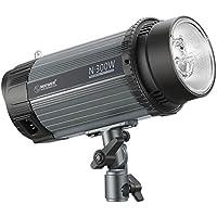 Neewer 300W 5600K Foto Studio Strobe Blitzlicht Monolight mit Modellierlampe, Aluminiumlegierung Professional Speedlite für Indoor Studio Location Modell Fotografie und Portrait Fotografie (N-300W)