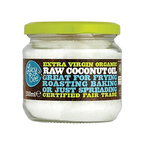 Lucy Bee Extra Virgin Organic Raw Fair Trade Coconut Oil 300ml (Pack of 3) (Misc.)