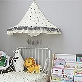 Eckzelte Für Kinder Bett Zelt Ecke Indoor Baumwollspitze Hängen Wand Für Baby Kinder Lesen Spielen Spiel Zelte (Nur Ein Zelt) (Farbe : #C, größe : M)