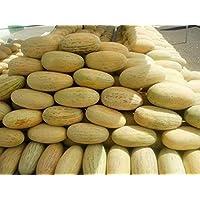 ScoutSeed Semillas De Melón Torpedo Uzbekistan. Dulce y grande. Reliquia de Ucrania hortalizas semillas