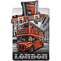 Amazonfr Housse De Couette London Livraison Gratuite Cuisine