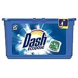 Dash Pods Detersivo in Monodosi Ecodose, 40 Lavaggi, Rimozione delle Macchie ed Alto Potere Pulente