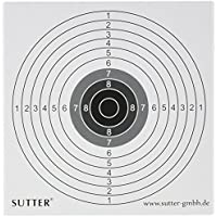 Pack de 100 cibles 14x14cm - pour Airsoft, Softair, petit calibres et plus