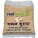 Real Seed Sandalwood Tilak Puja Powder, Mysore Sandalwood, Chandan Powder - Puja Chandan Tilak, Sandal Sacred Chandan Tikka (50 Grams Pack)