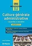 Culture Generale Administrative - Essentiel a Connaitre (la) (l')