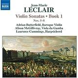 Leclair: Violin Sonatas Book 1, Vol 2 (Nos. 5-8)