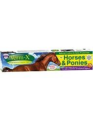 Verm-X Pellets für Pferde, 250 g. Statt chemischer Wurmkur für Pferde eine natürliche Kontrolle innerer Parasiten mit der bewährten Verm-X Kräuter-Rezeptur.