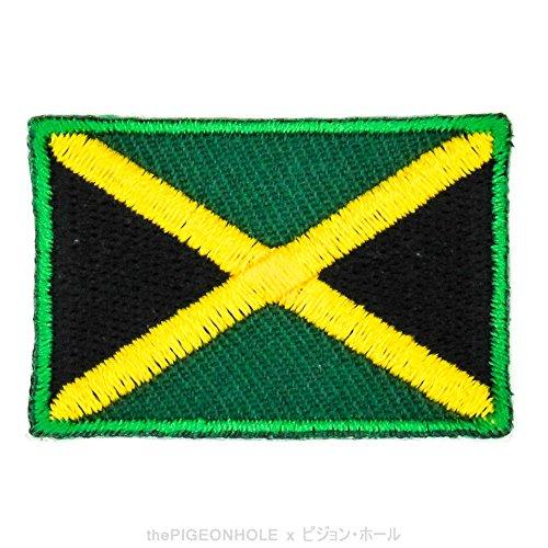 [divertido banderas.] cruz negro verde amarillo; Jamaica