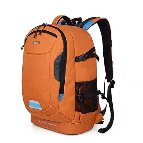 Sac à Dos Appareil Photo, Beaspire Sac à Dos Sacoche anti-choc Imperméable pour caméra reflex numérique SLR (Noir)
