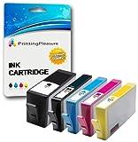Printing Pleasure 5 Tintenpatronen kompatibel zu HP 364XL für HP Photosmart 7510 7520 B8550 B8553 B8558 C5324 C5370 C5373 C5380 C5383 C5388 C5390 C5393 C6324 C6380 C6383 D5460 D5463 D5468 D7560 Photos