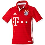adidas FCB H JSY Y - 1st Football kit T-Shirt for of Bayern FC for Boys, 152, Red / White