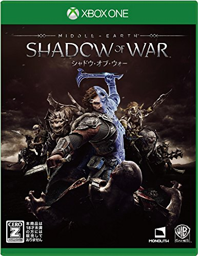 Middle earth Shadow of War MICROSOFT XBOX ONE JAPANESE VERSION