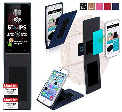 reboon Hülle für Allview X2 Soul Lite Tasche Cover Case Bumper | Blau | Testsieger