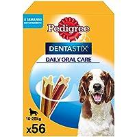 Pack de 56 Dentastix de uso diario para la limpieza dental de perros medianos (Pack de 1)