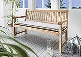 Destiny Bankpolster 170 cm * Sand * Kissen Auflage für Gartenbank Bank Polster Neu