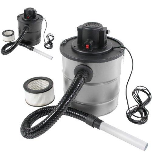 Jago Aspiracenere camino forno e grill capacità 20 litri 1200 W colore grigio