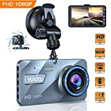 【2019 New Version】Dual Dash Cam Dashboard Front and Rear Car Camera 1080P Full