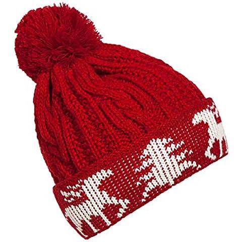 Donna Autunno Inverno Carino Palla di pelo all'aperto Knit Slouchy Beanie solido colore caldo della protezione del cappello ,