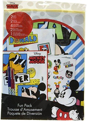 Sandylion Disney Mickey Mouse (Sandylion st6921Sammelalbum Disney Mickey Maus mit Sticker, Play Pack, Aufkleber, Plakate, Stifte)
