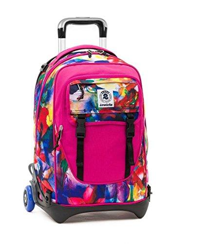 trolley-invicta-plug-blue-rosa-zaino-sganciabile-e-lavabile-scuola-e-viaggio-32-lt
