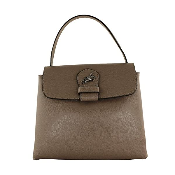 Top handle Leather bag Orietta - handmade-bags