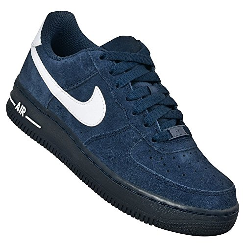 Nike  AIR FORCE 1 (GS), Sneakers Basses mixte enfant obsidian white 407
