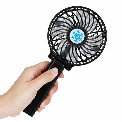VENMO-verano Ventilador Portátil,VENMO Ventilador recargable portátil Air Cooler Mini operado de mano...