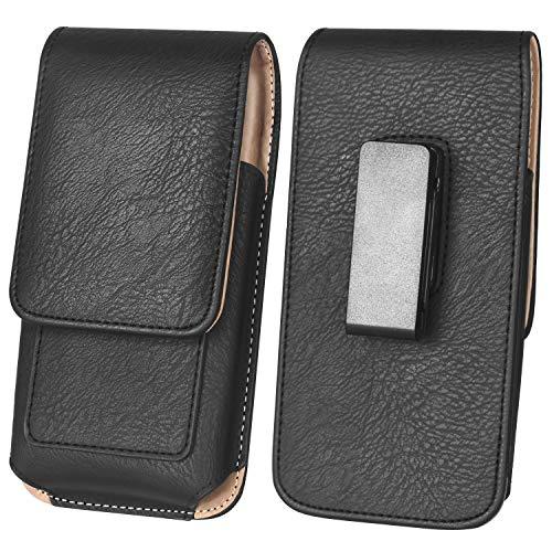 ykooe 6 Zoll Handy Gürteltasche Leder Hüftentasche mit Gürtelclip Handy Halter Tasche Smartphone für Huawei