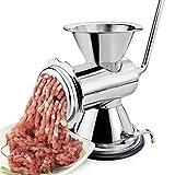 HAIZI Multifunktionale Kleine Fleischschleifer Manuelle Fleischwolf Home Edelstahl Press Küche Utensilien
