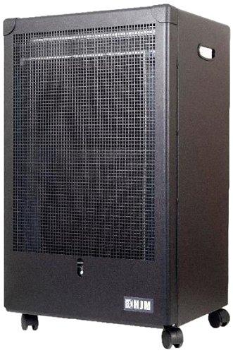 HJM GA4200 - Estufa a Gas Llama Azul, Negro