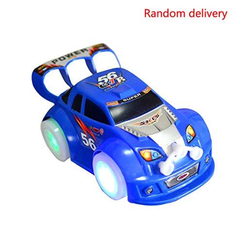 La luz llevada música soña el coche de los juguetes para los niños que se mueve el color al azar eléctrico Bobury