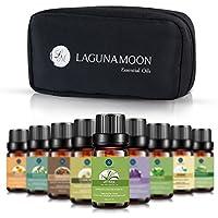 Lagunamoon ätherische öle für diffuser, aromatherapie öle Geschenk Set Top 10 bio öle Teebaum, Lavendel, Pfefferminze... preisvergleich bei billige-tabletten.eu