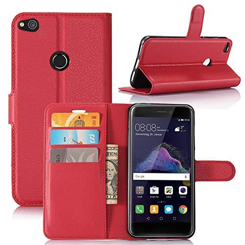 Momoxi Phone Accessory Huawei Handyhülle Handy-Zubehör Flip Magnetkarte Brieftasche Leder Case Stand Abdeckung Für Huawei P8 lite hülle