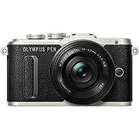Olympus V205082BE010 6.83 x 3.84 x 11.71 cm Pancake Zoom Gift Set, Black