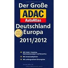 Der Große ADAC AutoAtlas Deutschland, Europa 2011/2012
