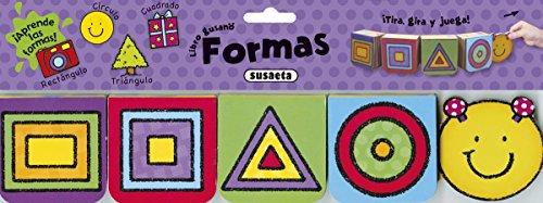 Formas (Libro gusano) por Susaeta Ediciones S A