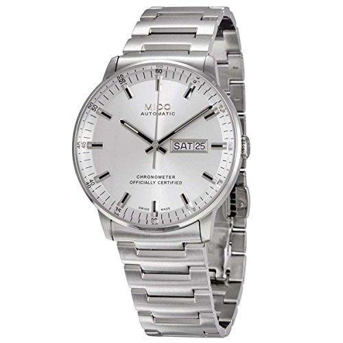 Mido Herren Analog Automatik Uhr mit Edelstahl Armband M0214311103100