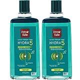 Pétrole Hahn Lotion Tonique Hydra 5 Nutrition pour Cheveux Secs 300 ml - Lot de 2