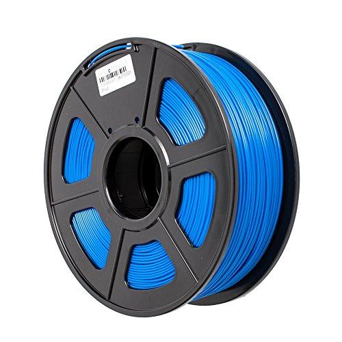 TRITINA 3D Printer Filament ABS 1.75 mm Durchmesser,Maßgenauigkeit ± 0.02 mm,1 kg Spulengewicht,Farben Option (Blau)
