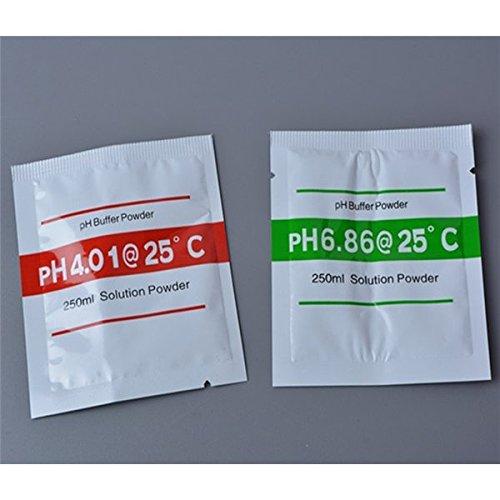 Doradus teilig PH 4,01ph6.86Puffer Puder für PH Test Meter messen Kalibrierlösung