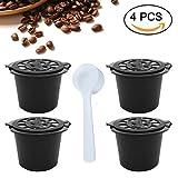 Capsule/cialde di caffè ricaricabili/riutilizzabili, compatibili con le macchine per il caffè Nespresso