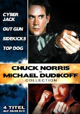 Chuck Norris & Michael Dudikoff Collection (Cyberjack/Outgun - Die Kopfjäger/Sidekicks/Top Dog)