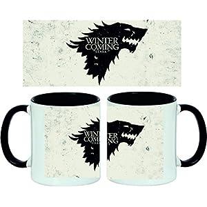 Taza Juego de Tronos Stark Logo 14