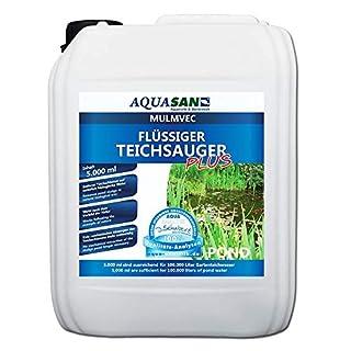 AQUASAN Mulmvec Flüssiger Teichsauger Plus 5.000 ml