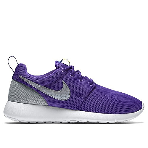 Nike Roshe One (Gs) Scarpe da Ginnastica, Unisex - Bambino Multicolore (Hyper Grape/Wolf Grey-Dp Night)